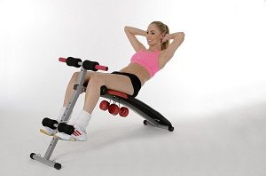 Sit-Up Bank, Bauchmuskeltrainer