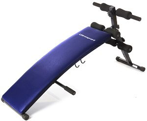 Sit-Up Bank, Bauchtrainer