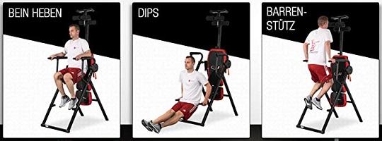 Kräftigungs-Übungen am Sportstech IT300