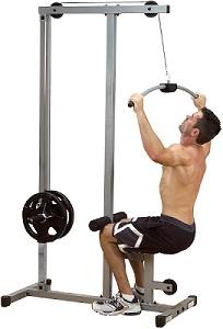 Rücken trainieren am Latzug- und Ruder-Turm