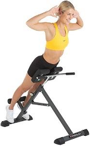 Hyperextension-Übung auf dem Rückenstrecker-Gerät