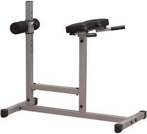 Rückenstrecker-Gerät Body Solid für die Kräftigung der Rückenmuskulatur durch Hyperextension-Übung