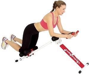 Beinhebe-Gerät von SportPlus für Bauchmuskeltraining und Fettverbrennung